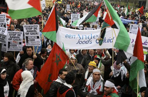 Weblog anja meulenbelt demonstratie voor gaza amsterdam for Demonstratie amsterdam
