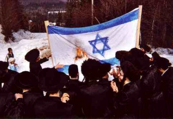 jewsburnisraeliflag.jpg