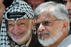 Arafat en Ghandi