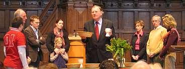 Huub Oosterhuis, viering van eucharistie