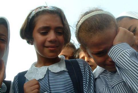 Raghda's klasgenoten